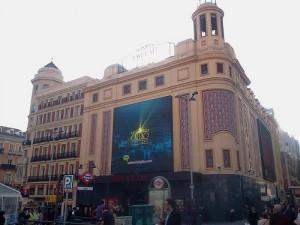 Cine Callao en Madrid