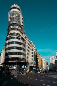 Edificio Carrión, en la plaza de Callao