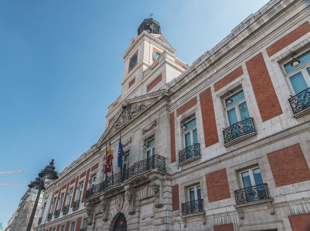Casa de Correos de Marquet y Ventura Rodríguez