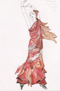 Flamenca, por Joaquín Sorolla