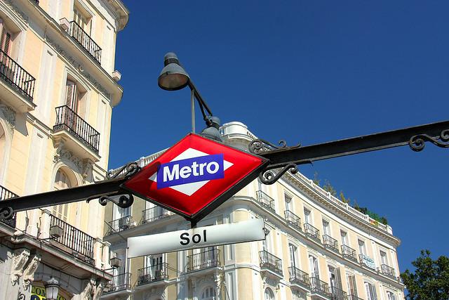 Metro en la Puerta del Sol