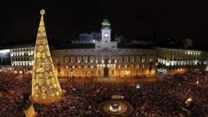 Uvas Puerta del Sol Madrid