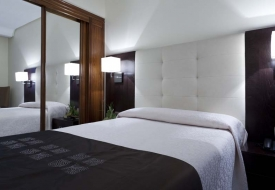 Hotel Liabeny Madrid | Double bedroom for single use